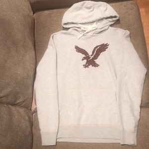 American Eagle logo hoodie